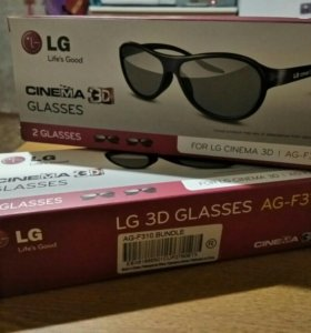 3D очки для телевизоров LG
