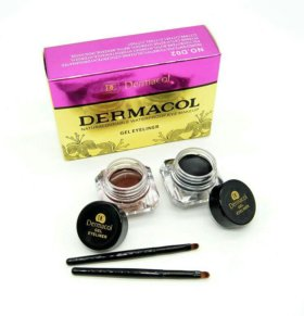 ЖИДКАЯ ПОДВОДКА KIT GEL EYELINER WATERPROOF DERMAC