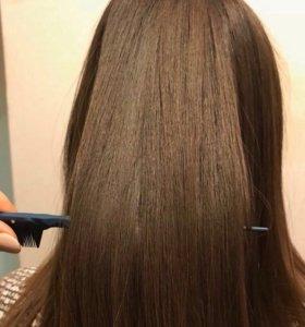 Кератиновое выпрямление ,ботокс волос,