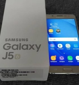 Смартфон Samsung Galaxy J5 (2016) SM-J510F/DS