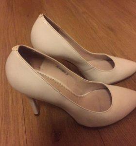 Туфли кожаные 37 размер