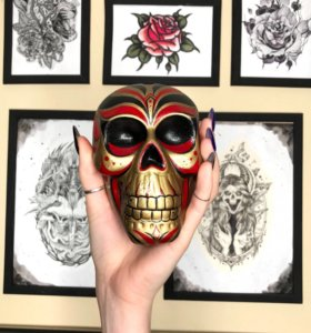 Копилка skull