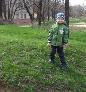 Куртка двухсторонняя Дисней на весну