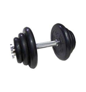 Гантель разборная MB Barbell Atlet 10 кг