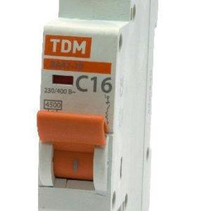Автоматический выключатель ВА47-29 - х-ка В