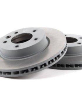 LR Discovery 3, задние тормозные диски.