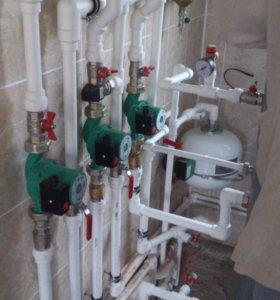 Отопление,водопровод,канализация,сантехника.