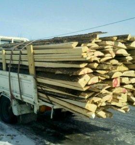 Продам горбыль на дрова ель