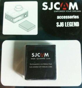 Аккумуляторная батарея для sjcam