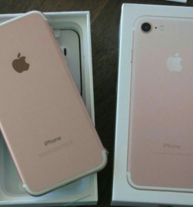 Iphone 7 rose gold 32 gb touch id