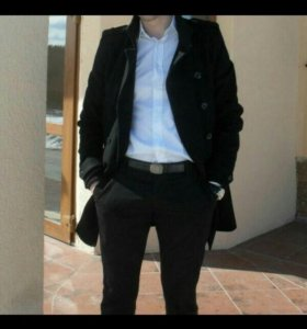 Демисезоннее мужское пальто