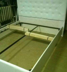 Кровать 2х спальная без матраса