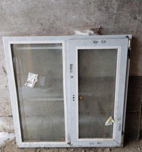 Окно пластиковое новое.