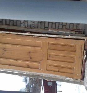 Продам деревянные межкомнатные двери бу