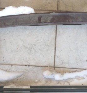 Защита переднего бампера Форд фокус 2