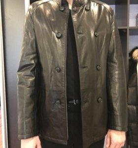 Кожаная куртка Vericci (новая)
