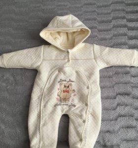 Детский тёплый костюм ( новый)