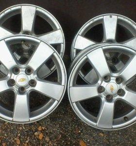 Литые диски Chevrolet