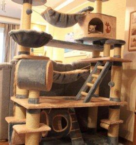 Домики и игровые комплексы для кошек.