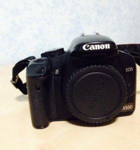 Canon 450d в идеальном состоянии + объектив