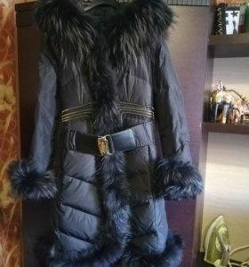 Турецкое зимнее пальто р46