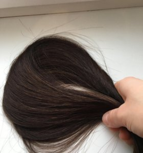 Натуральные волосы на лентах 24 шт