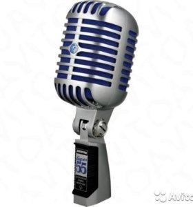 Ретро-микрофон shure 55SH новый