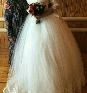 Свадебное платье 44 размера