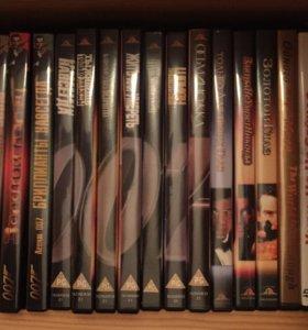 Джеймс Бонд 15 DVD