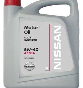 Масло моторное Nissan 5W-40 5л