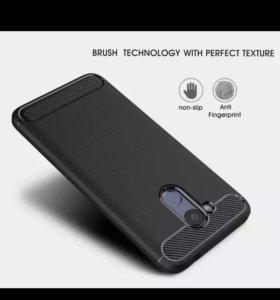 Чехол Huawei Honor 6c pro Серый.