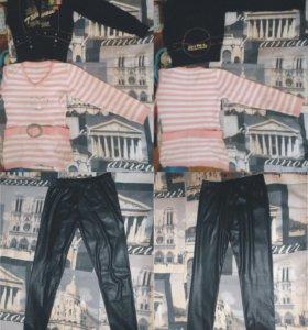 Одежда женская пакетом 13 шт., размер 40-42