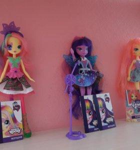 Куклы My Little Pony девочки из Эквестрии