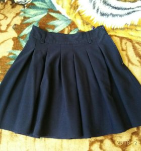 Школьная юбка синяя SkyLake 36р.