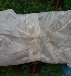 Одеяло на выписку весна-лето