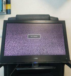 Телевизор рабочий Mystery 22 дюйма с пультом