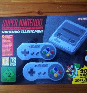 Super Nintendo mini(новая) + 190 игр.
