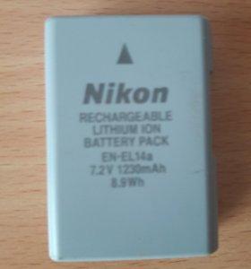 Аккумулятор Nikon EN-EL 14a