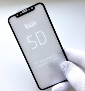 5D защитное стекло на iPhone X / Iphone 10