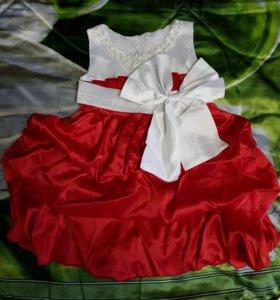 Новое платье. Рост 120