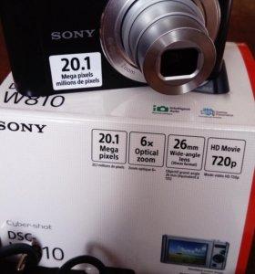 Продам цифровой фотоаппарат Sony DSC-W810.