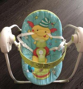 Электронные качели Happy Baby Jolly
