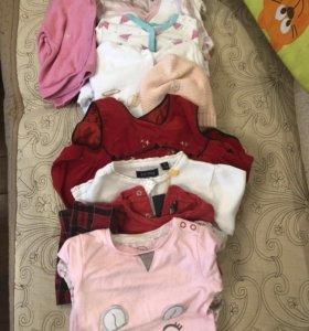 Пакет вещей для девочки 68р