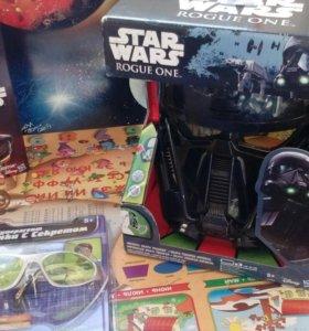 """Маска-шлем новая """"Звездные войны"""""""