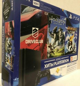 SonyPlaystation 4 500gb + 3 игры