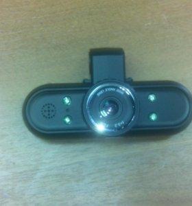Видеорегистратор F350 FulHD GPS 2 камеры
