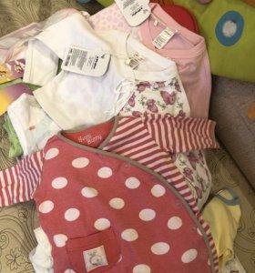 Пакет вещей для девочки 62р