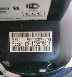 Беспроводной телефон Panasonic dect KX-TCD215RUT