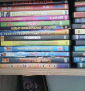 Dvd диски мультики.