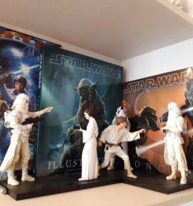 Star Wars ❇ Люк и Лея ❇Kotobukiya